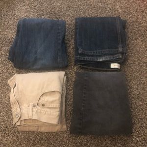 Levi's juniors size 16 bundle.